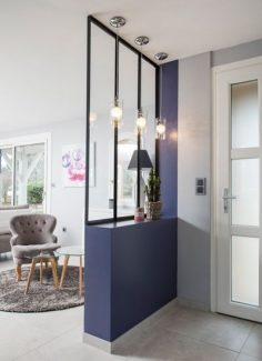 At the gates of the city, complete renovation of the floor of a house in Lentilly. Renovation bathroom, dressing room, master bedroom, Lyon. Rhone Alps.  – Evy Verbinnen