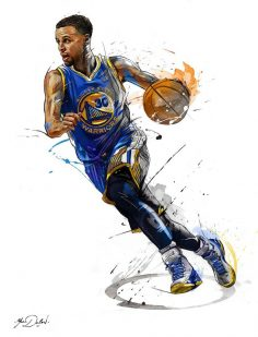 Stephen Curry ~ He surely stepped up from 2014-present nba season. His 3-point range is none like we've seen before – purely because of how quick, high and effective his shot is. His ball handling, mid-range, and play making is amongst one of the…  – Michel Lefebvre