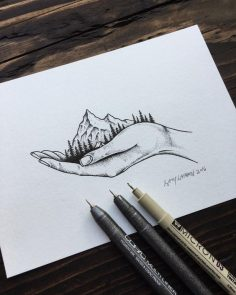 111 Insanely Creative Cool Things to Draw Today (Cool Sketches To Draw)  – Ju Lie