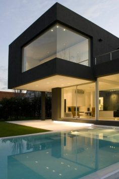 lovely luxury house with an outdoor pool  – ArchZine FR