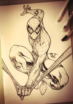 Spiderman Commission artwork Comic Art – Visit to grab an amazing super hero shirt now on sale!  – jerem59780