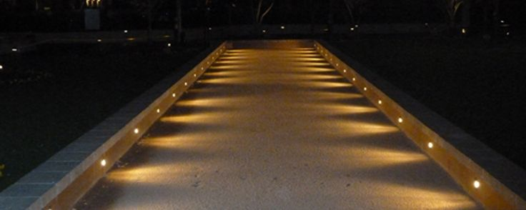 Night Lights Add A Touch Of Ambience Bocce Ball Court Dimensions