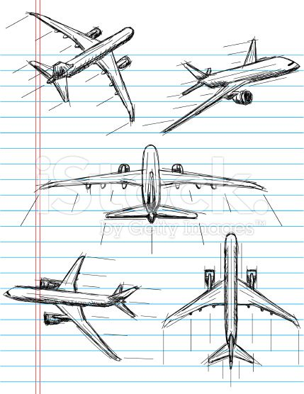 Airplane Sketch Illustration Google Search Solveig Lc Pctr Up