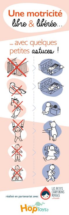 To display for parents Other toys for babies => http://amzn.to/2pL8CLG Aprende todo sobre de los bebes en somosmamas.com.ar.  – Agnès Touzé