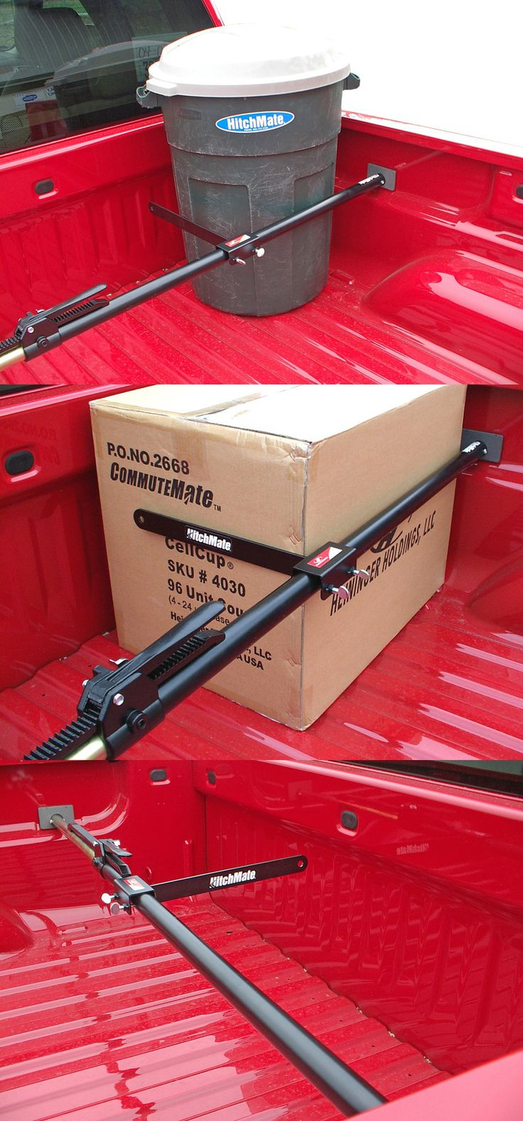 A Necessity When It Comes To Truck Bed Accessories A Cargo Stabilizer Bar And Load Support Compatible With Ford F 150 Trucks A Great Idea For Cargo Control In The Truck Bed