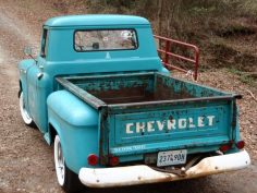 Chevy- this looks exactly like the truck my Dad had that I wish he would of kept. I loved that truck and I will have one like it someday. Good memories  – Christophe Laurent