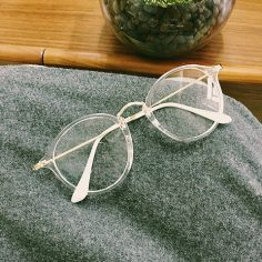 Kawaii Circle Glasses – Rebel Style Shop – 2  – Mary T