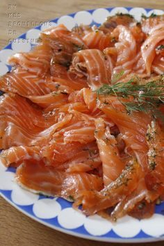 Gravlax, recipe by Bernard Laurance – My kitchen drafts  – claudejcalvet