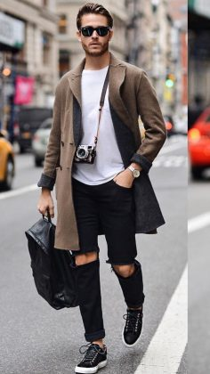 City Look. Men's street style for weekend  – LeatherCotton