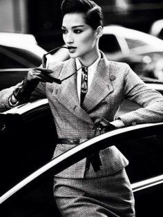 Power Suits – Suit Fashion Trend 2012 – Marie Claire  – FairEra
