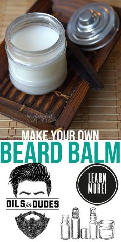 Homemade Beard Balm recipe  – Aurélien Dul's