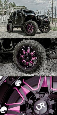 """Warrior"" Jeep Wrangler on RTX Gloss Black Custom Wheels #jeep #wrangler  – caridcom"