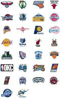 NBA basketball team logo  – Attention-graphisme
