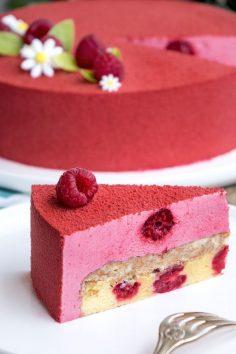 The raspberry dessert recipe  – louuneaiguilled