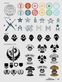 Fallout logos  – po_ink