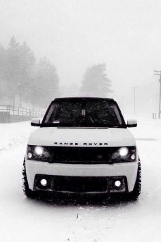 Maybe my CEO future husband can buy me this? White Range Rover #swag  – Palbrs