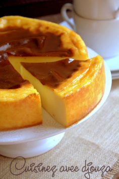 A pastry recipe without pastry by Christophe Michalak, or the gourmet and generous Parisian custard. Its creamy texture will enchant you.  – brigitteloquet