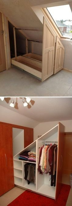 The attic is usually the most attractive room in the whole house. Some people create secret or private pieces where their most creative ideas come true. In both cases, these pieces have a particular appeal …  – valpenty