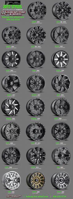 2017 Fuel Off-Road Wheels & Rims – For Jeeps, Trucks, SUV's  – mtgraphiste