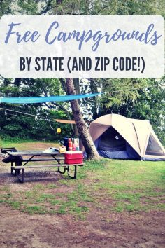 Free Campgrounds Sorted By State (and Zip Code!) – Who doesn't like camping? I think everyone I know likes to camp at least once a year. I actually go camping more like 3 or 4 times a year. The cost can add up so I went hunting for some free campsi…  – daycarexpert