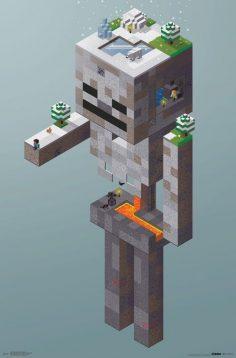 Minecraft – Skeleton Tundra  – galadrielbaron44