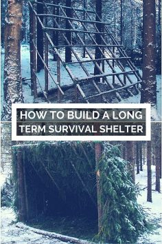 How To Build A Long Term Survival Shelter – If your home or retreat is compromised in a long term collapse scenario, what are your options for shelter? If it's a week or so in the summer, no big deal – but what if it's the dead of winter, or …  – cladelcroix