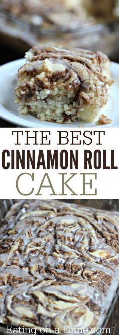 Here is a fun twist on a coffee cake recipe. This easy cinnamon roll cake recipe is the best. Get the taste of homemade cinnamon rolls without all the work. (Homemade Cheese Thanksgiving)  – smojversara