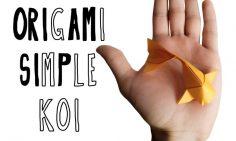 Origami Simple Koi (Riccardo Foschi)  – lilyjessicajane