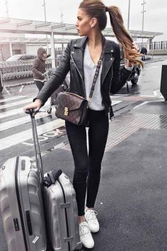 51 Fall Travel Outfit Ideas For You Who Always On The Go #women fashion # #women fashion  – jvosgel