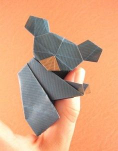 Origami Koala by Watanabe Dai folded by Gilad Aharoni  – martiiiiinka