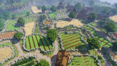 Minecraft Farming Village Remake  – albindubanchet
