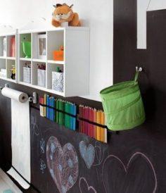To write on the walls ! – Montessori – Facilities – Kindergarten assistant – Games room – decoration – practical tips – room:  – eernandes45