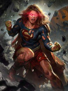 ArtStation – Supergirl's Rage, Javier Charro  – Nathan_Bodrero