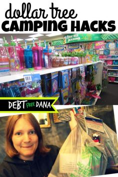 Dollar Tree Camping Hacks  – AnastasiaRrrrr