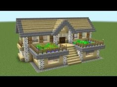 Minecraft – How To Build A Birch Survival House  – Carchake